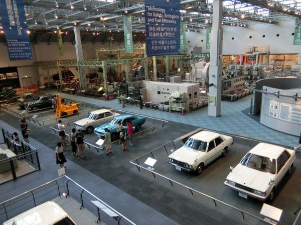 【名古屋】紡織&汽車的博物館:Toyota豐田產業技術紀念館