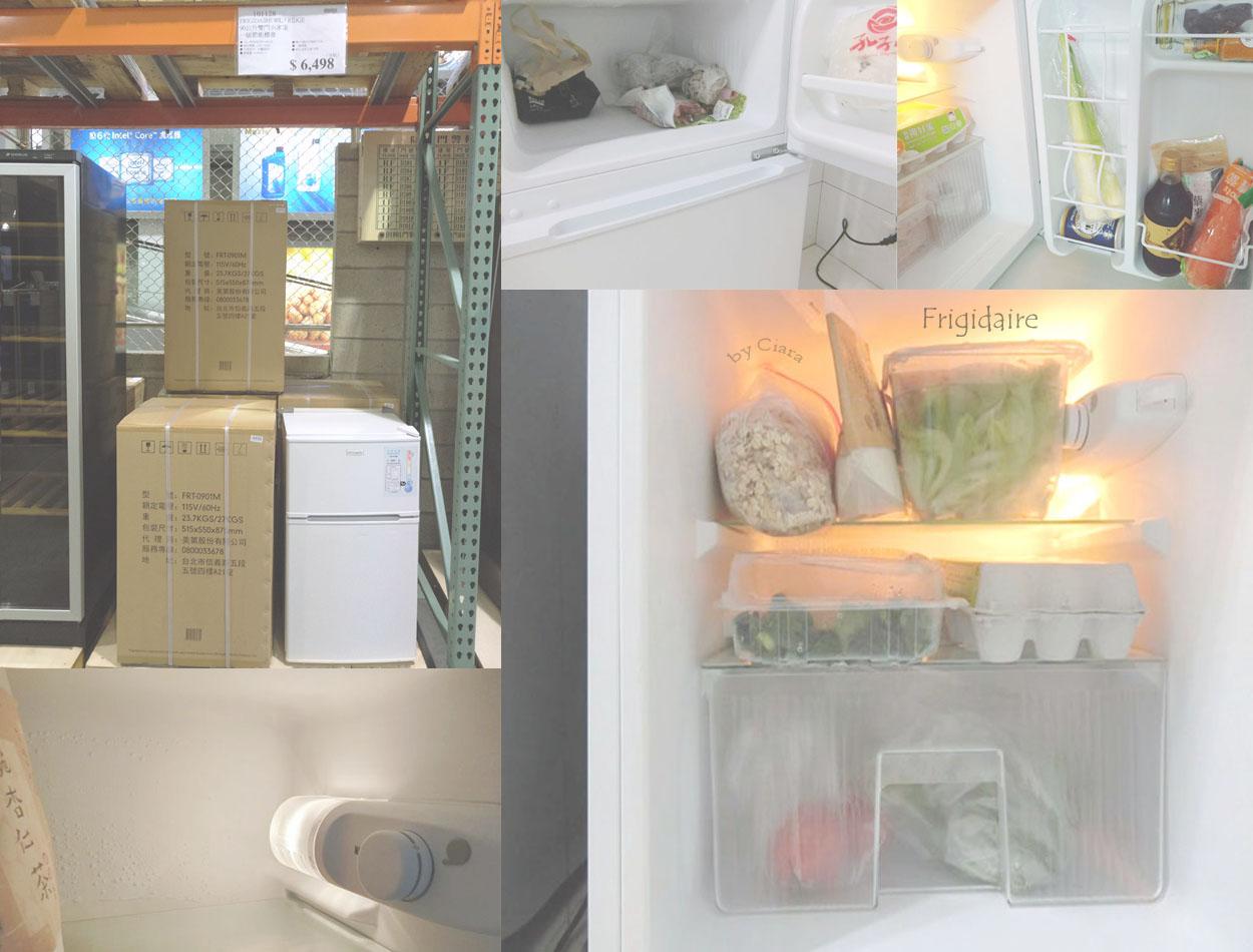 【家電】小套房.宿舍必備 Frigidaire 90公升小體積大容量.1級省電冰箱