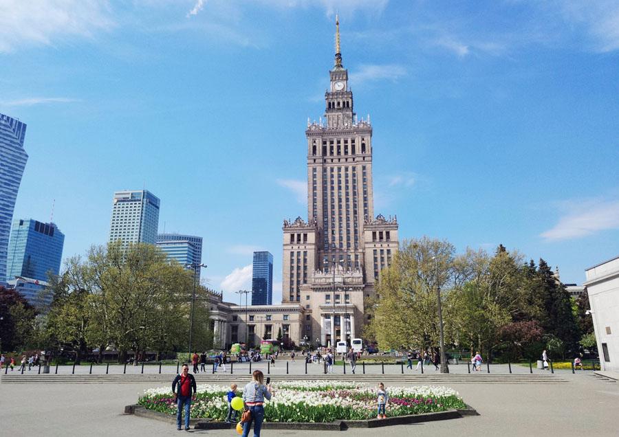 【華沙市中心】登上科學文化宮的觀景台 波蘭最具爭議的歷史建物