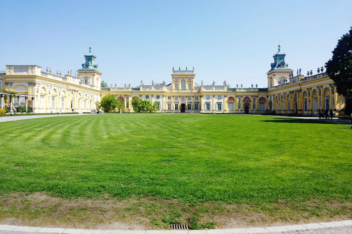【華沙景點】維拉諾夫宮殿(夏宮) 倖免於戰爭的古蹟.博物館!